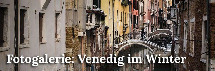 Fotogalerie: Venedig im Winter
