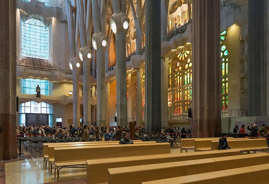 Sagrada Família Innenraum | Sagrada Familia Tickets | Peter R. Stuhlmann